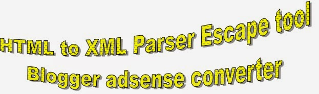 how to parse html for blogger xml Blog templates convert html